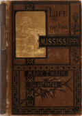 Books:Literature 1900-up, Mark Twain. Life on the Mississippi. Osgood, 1883. Firstedition, second state. Rubbing to publisher's cloth wit...