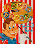 Books:Children's Books, Howdy Doody [subject]. Howdy Doody Coloring Book. Whitman,1950. Publisher's wrappers with light rubbing. Some pages...