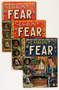 Golden Age (1938-1955):Horror, Haunt of Fear Canadian Editions Group (EC, 1951-53) Condition:Average FR/GD.... (Total: 10 Comic Books)