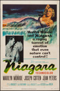 "Movie Posters:Film Noir, Niagara (20th Century Fox, 1953). One Sheet (27"" X 41""). FilmNoir.. ..."