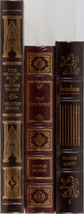 Books:Literature 1900-up, [Classic Literature]. Dickens, Hugo, and Scott. Group of ThreeBooks Published by Easton Press. Fine and still sealed in ori...(Total: 3 Items)