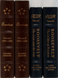 Books:Biography & Memoir, U.S. Presidents. Roosevelt and Eisenhower. Group of Two Titles inFour Volumes Published by Easton Press. Mild shelfwear wit...(Total: 4 Items)