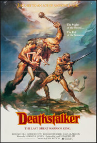 "Deathstalker (New World, 1983). One Sheet (26.5"" X 39.25""). Action"