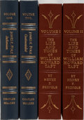 Books:Biography & Memoir, U.S. Presidents. Taft and Polk. Group of Two Titles in Four Volumes Published by Easton Press. Mild shelfwear with an occasi... (Total: 4 Items)