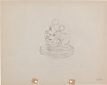 Animation Art:Production Drawing, Mickey's Service Station Production Drawing Animation Art(Disney, 1935)....