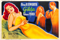 "Gilda (Columbia, 1946). French Double Grande (63"" X 93"")"