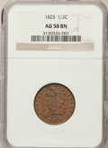 Half Cents: , 1825 1/2 C AU58 NGC. NGC Census: (52/62). PCGS Population (31/60).Mintage: 63,000. Numismedia Wsl. Price for problem free ...