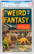 Golden Age (1938-1955):Science Fiction, Weird Fantasy #17 (EC, 1953) CGC VF+ 8.5 Off-white to whitepages....