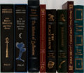 Books:Literature 1900-up, Robert Lewis Stevenson. Group of Eight Books Published by the FolioSociety and Easton Press. A bit of mild shelfwear and a ... (Total:8 Items)