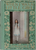 Books:Children's Books, Zona Gale. INSCRIBED. When I Was a Little Girl. Macmillan,1913. First edition, first printing. Signed and inscrib...