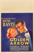 "Movie Posters:Comedy, The Golden Arrow (Warner Brothers, 1936). Window Card (14"" X 22"")....."