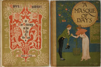 Walter Crane [illustrator]. Group of Two Books. Cassell, ca. 1901. Bindings rubbed. Some hinges cracked. Overall very