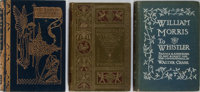 Walter Crane [illustrator]. Group of Three Books. Various publishers, 1882-1911. Bindings rubbed. Some hinges cracked