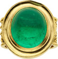 Estate Jewelry:Rings, Emerald, Gold Ring, Reinstein Ross. ...