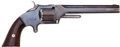 Handguns:Single Action Revolver, Smith & Wesson Model No. 2 Army Spur Trigger Revolver....