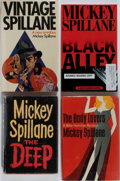 Books:Mystery & Detective Fiction, Mickey Spillane. Group of Four Books, Three First Edition, FirstPrinting and One Advance Reading Copy. Various publishers, ...(Total: 4 Items)