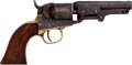 Handguns:Muzzle loading, Colt Model 1849 Pocket Percussion Revolver....