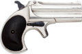 Handguns:Derringer, Palm, Remington Over and Under Derringer....