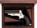 Handguns:Derringer, Palm, Cased Sharps Model 2A Four Barrel Derringer....