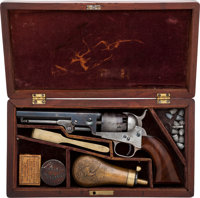Exceptional Cased Colt Model 1849 Pocket Percussion Revolver