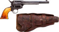 Handguns:Single Action Revolver, Colt Single Action Army Revolver with Antique Holster....