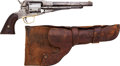 Handguns:Muzzle loading, Civilian Remington Navy Conversion Single Action Revolver with Holster....