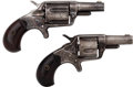 Handguns:Derringer, Palm, Lot of Two Colt New Line Pocket Revolvers.... (Total: 2 Items)