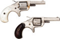 Handguns:Single Action Revolver, Lot of Two Colt Pocket Revolvers.... (Total: 2 Items)