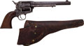 Handguns:Single Action Revolver, Civilian Colt Single Action Revolver with Holster....