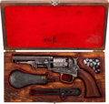 Handguns:Single Action Revolver, Colt Model 1849 Pocket Percussion Revolver with Accessories....