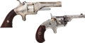 Handguns:Single Action Revolver, Lot of Two Engraved Pocket Revolvers.... (Total: 2 Items)