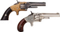 Handguns:Single Action Revolver, Lot of Two Smith & Wesson Pocket Revolvers.... (Total: 2 Items)