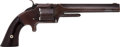 Handguns:Single Action Revolver, Civilian Smith & Wesson Model No. 2 Army Revolver....