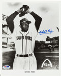 Baseball Collectibles:Photos, Satchel Paige Signed Photograph. ...