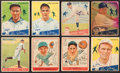 Baseball Cards:Lots, 1933, 1934 & 1938 Goudey Collection (36) With Gehrig. ...
