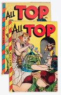 Golden Age (1938-1955):Funny Animal, All Top Comics #14 and 18 Group (Fox Features Syndicate,1948-49).... (Total: 2 Comic Books)