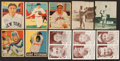 Baseball Cards:Lots, 1933-1948 National Chicle, Double Play, Leaf, Plus Card and PinCollection (69). ...