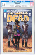 Modern Age (1980-Present):Horror, Walking Dead #19 (Image, 2005) CGC NM+ 9.6 White pages....