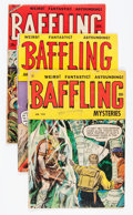 Golden Age (1938-1955):Horror, Baffling Mysteries Group (Ace, 1952-55).... (Total: 4 Comic Books)