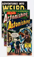 Golden Age (1938-1955):Miscellaneous, Atlas Comics Group (Atlas, 1952-56).... (Total: 5 Comic Books)