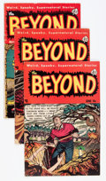 Golden Age (1938-1955):Horror, The Beyond #8, 12, and 20 Group (Ace, 1952-53) Condition: AverageVG-.... (Total: 3 Comic Books)