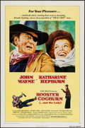 """Movie Posters:Western, Rooster Cogburn (Universal, 1975). One Sheet (27"""" X 41""""). Western.. ..."""