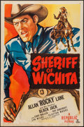 "Movie Posters:Western, Sheriff of Wichita and Other Lot (Republic, 1949). One Sheets (2)(27"" X 41""). Western.. ... (Total: 2 Items)"