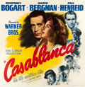 "Movie Posters:Academy Award Winners, Casablanca (Warner Brothers, 1942). Six Sheet (81"" X 81"").. ..."