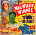 "Movie Posters:Adventure, Wee Willie Winkie (20th Century Fox, 1937). Six Sheet (81"" X 81"")....."