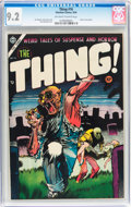 Golden Age (1938-1955):Horror, The Thing! #16 (Charlton, 1954) CGC NM- 9.2 Off-white to whitepages....