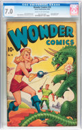 Golden Age (1938-1955):Science Fiction, Wonder Comics #18 (Better Publications, 1948) CGC FN/VF 7.0 Creamto off-white pages....