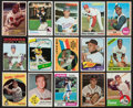 Baseball Cards:Lots, 1950's-80's Topps Baseball Stars & Hall of Famers CardCollection (40). ...