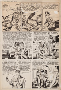 "Jack Kirby In Love #3 ""Inky"" Page 19 Original Art (Mainline, 1955)"