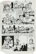 Original Comic Art:Panel Pages, Don Perlin and Kim DeMulder Defenders #142 Page Original Art Group (Marvel, 1985).... (Total: 12 Items)